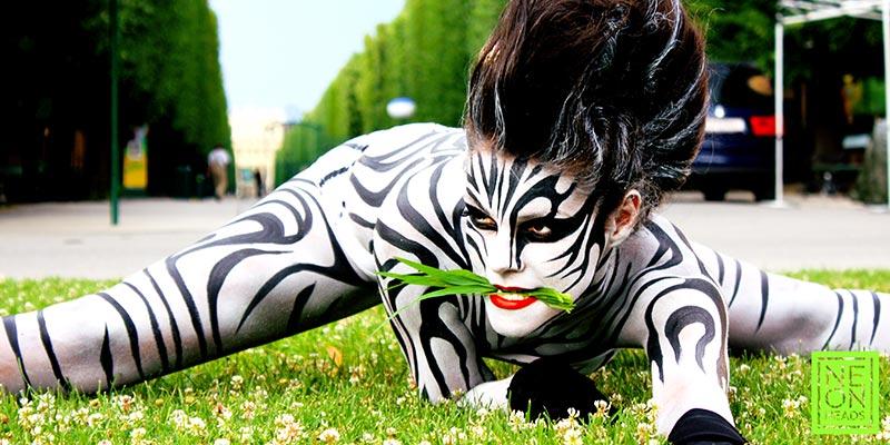 Zebra nude Nude Photos 1